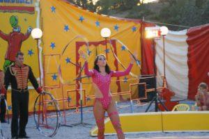 animation cirque mariage