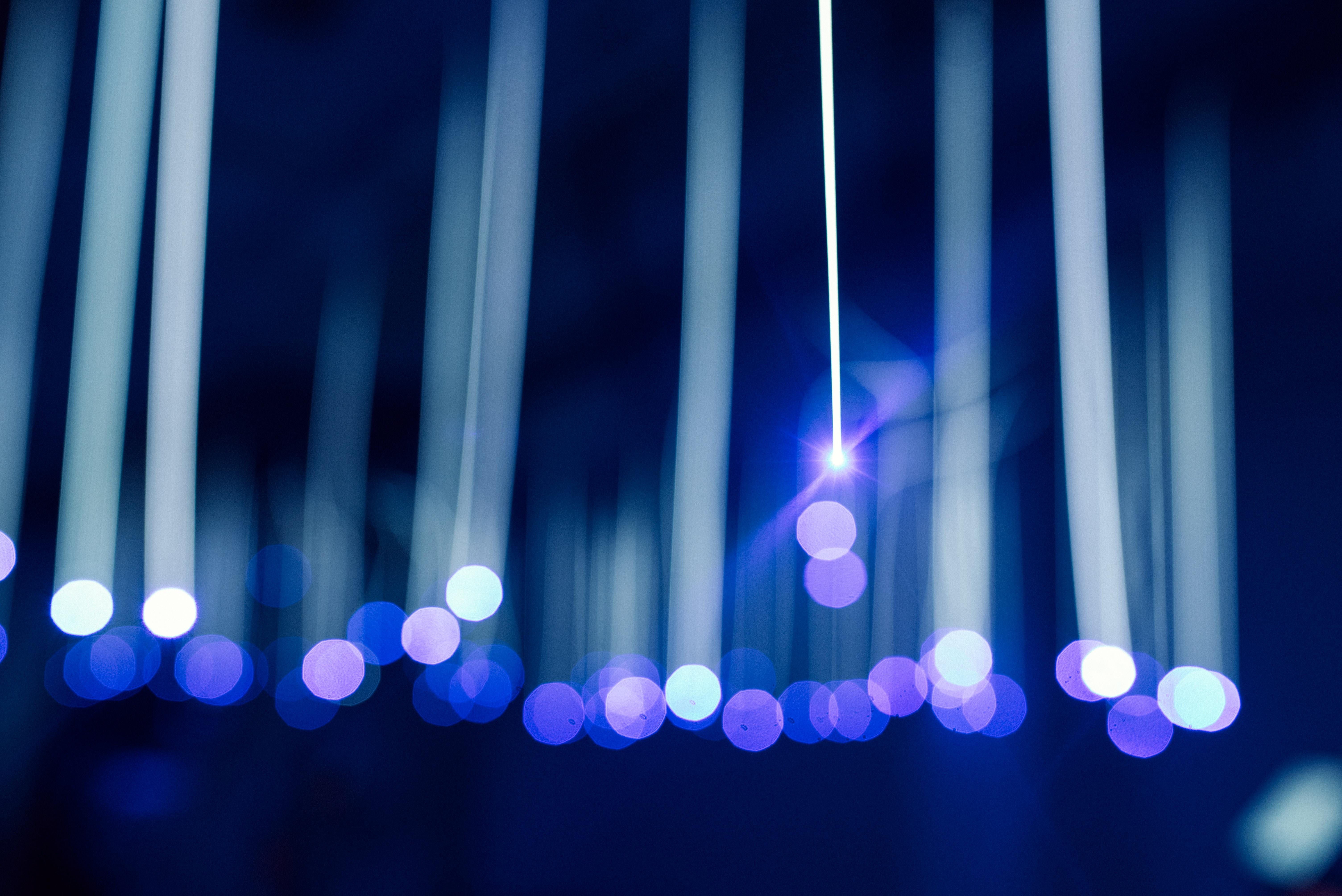 DIY luminaire LED pour mariage