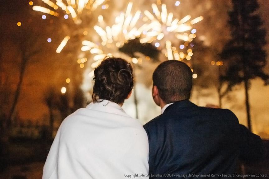 Quel feu d'artifice choisir pour un mariage ?